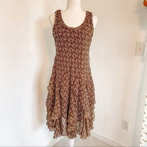Signature by Robbie Bee Country Chic Ruffle Dress